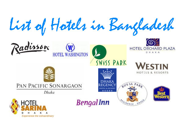 List Hotels In Bangladesh Book Hotel In Bangladesh