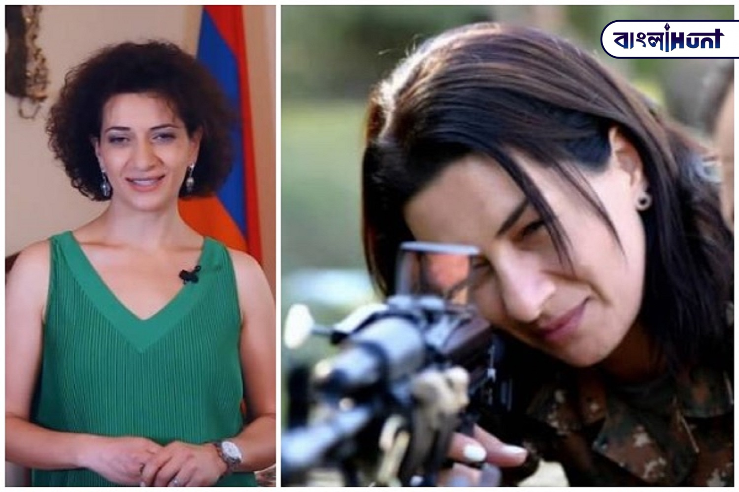 The wife of the Prime Minister of Armenia is entering the war against the enemy