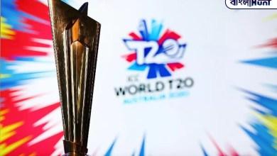 Photo of ক্রিকেট প্রেমীদের জন্য সুখবর! আগামী T-20 বিশ্বকাপ নির্ধারিত সময়মত অনুষ্ঠিত হবে ভারতে