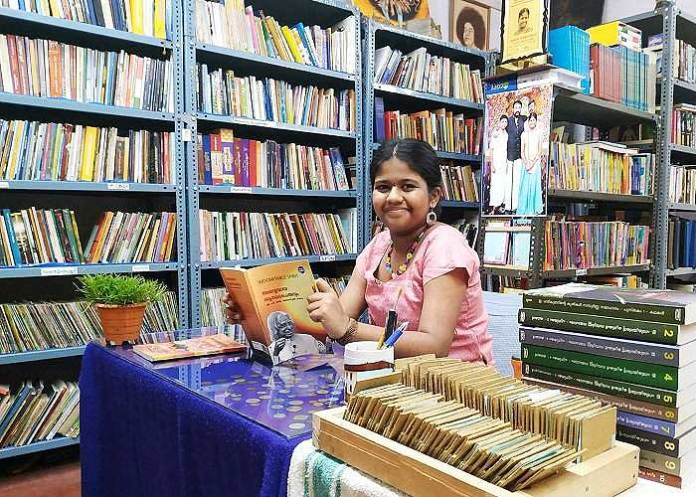 youngest librarian Kochi