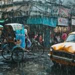 rainy kolkata
