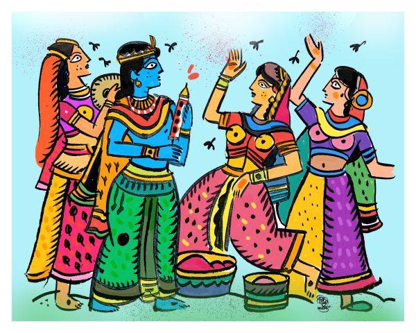 Chiranjit Samanta illustration