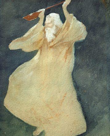Rabindranath by Abanindranath