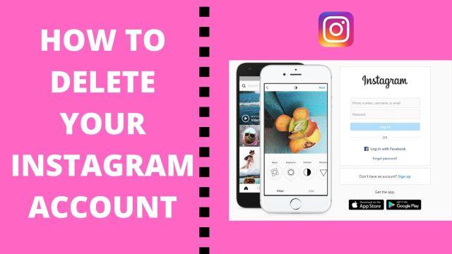 How to Delete Instagram Account on App 23 - Bangla Master