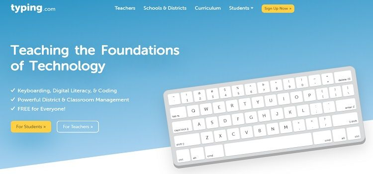 typing.com free typing software online