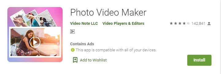 Photo Video Maker app