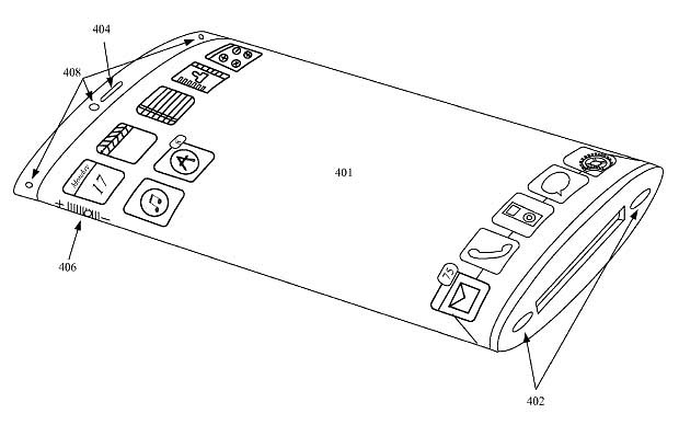 apple new 3d device design patent