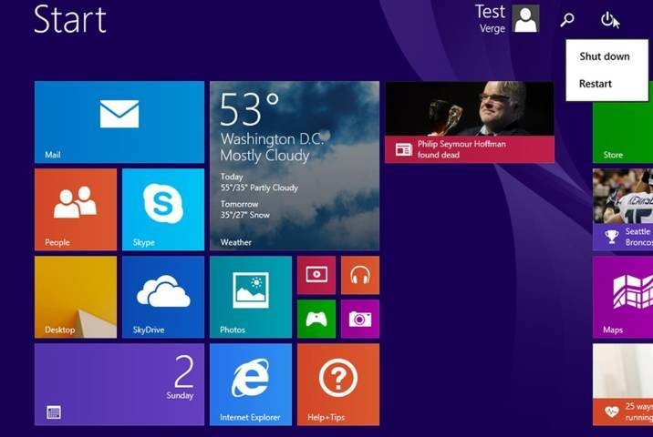 windows 8.1 upadate 1 leaked ..