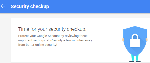 google security checkup 1