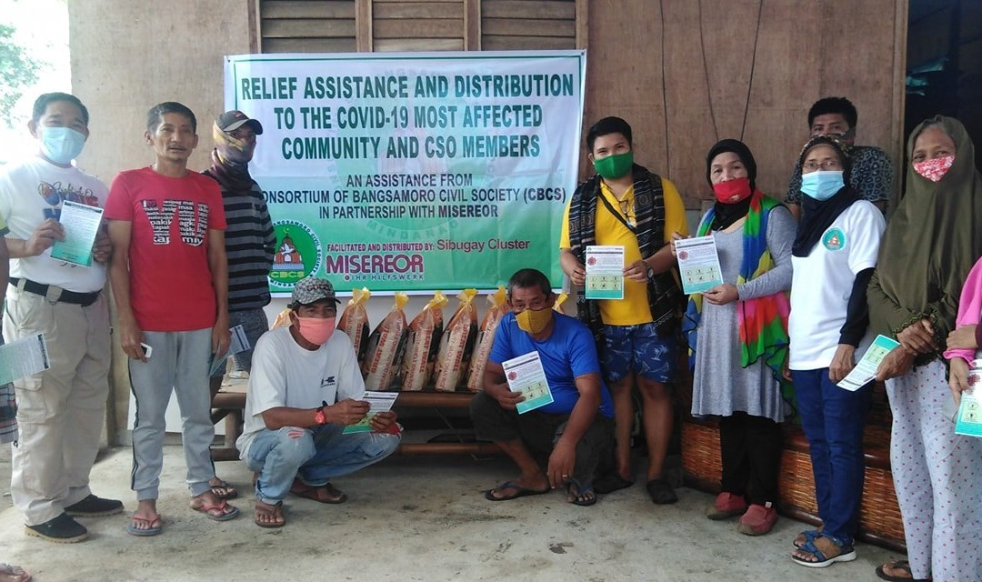CBCS SIBUGAY CLUSTER CONVENER GROUP DONE RELIEF DISTRIBUTIONS