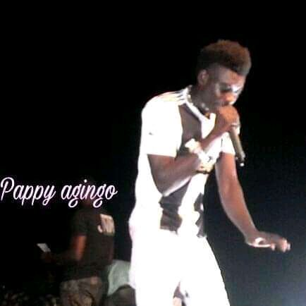 Pappy Agingo Performing