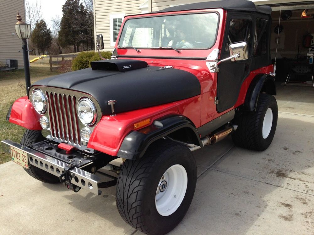 medium resolution of this 1976 jeep cj7 was built to be a street and dune killer is it bangshifty or wrong