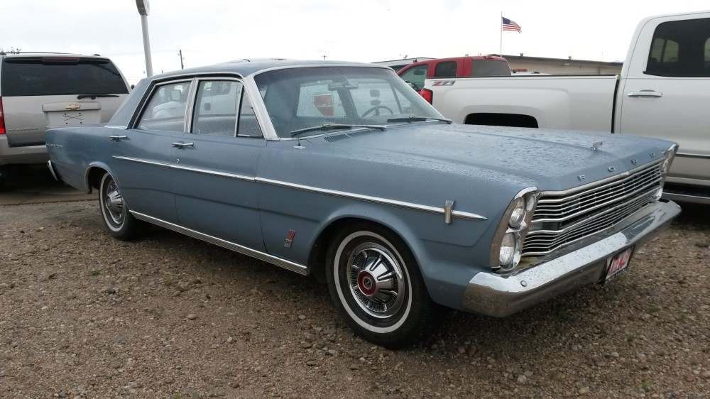 medium resolution of this 1966 ford galaxie 500 was just traded in to a dealership interested