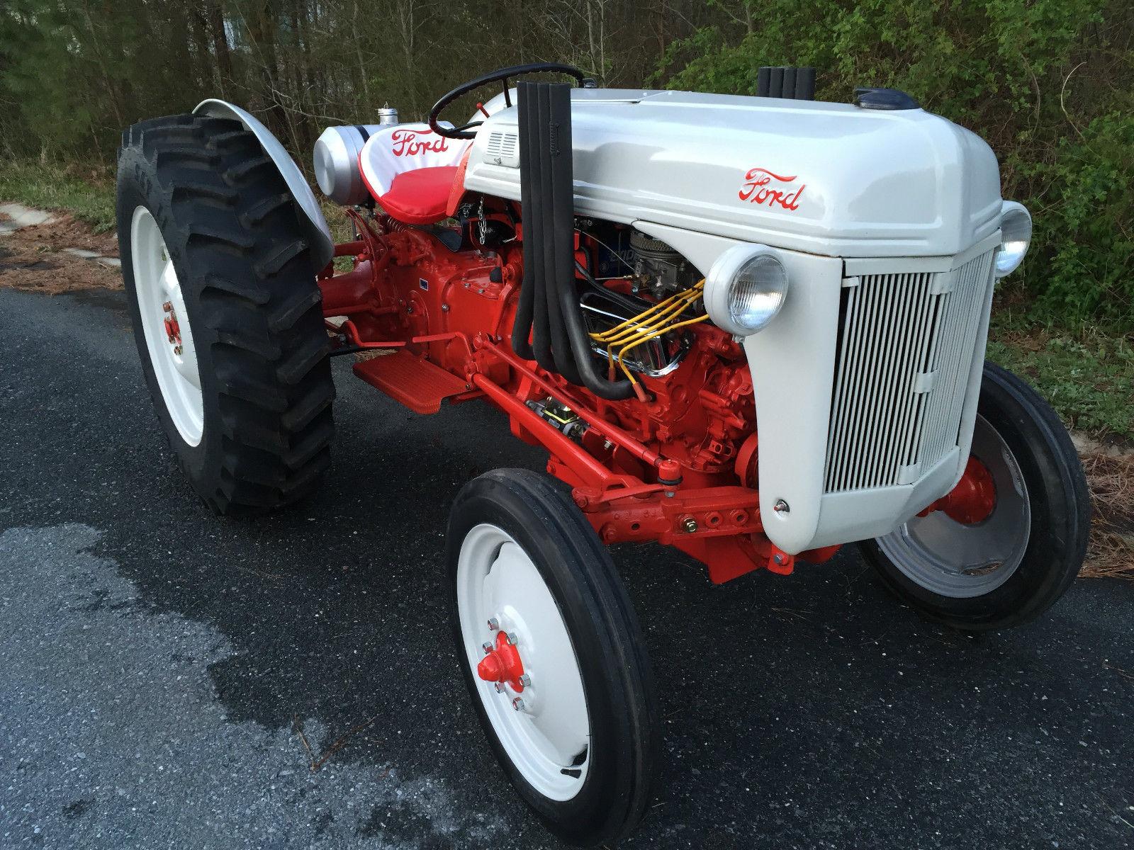 ford 8n tractor remote car starter wiring diagram bangshift 1952