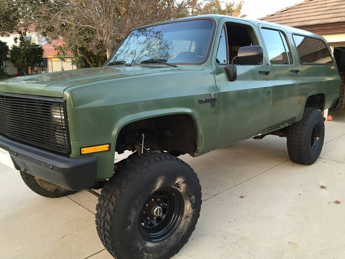 1985 Chevy C10 On 26 S Youtube 1984 Truck Ke Switch Wiring Diagram For Silverado 72 K10 Bangshiftcom This Square Body K20 Suburban Speaks To Us 2605 Atl