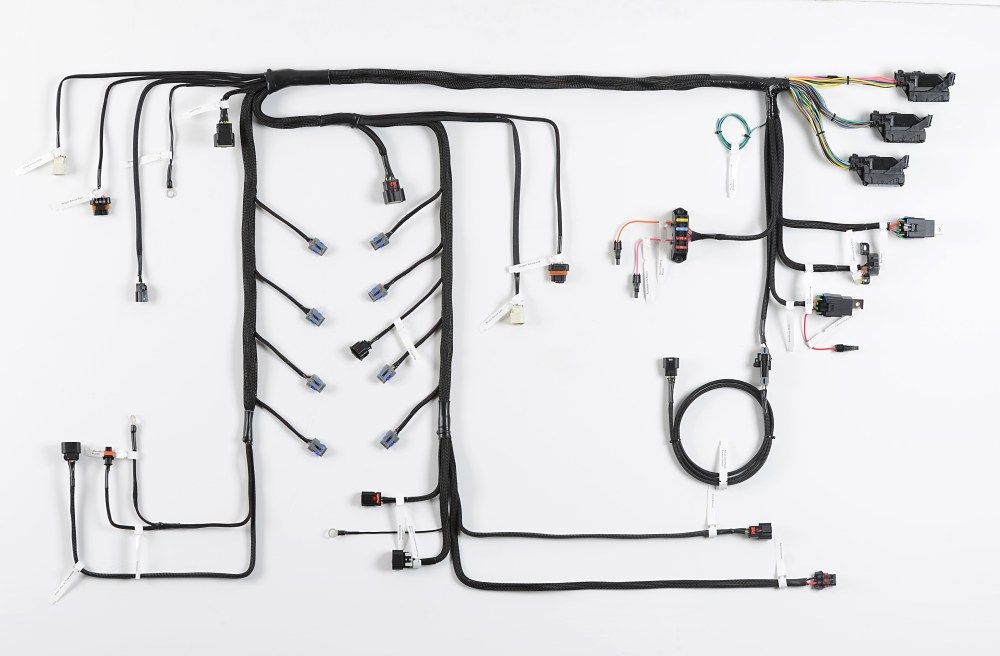 medium resolution of howell efi announces 2014 ecotec3 4 3l v6 lv3 c truck wiring harnesses perfect for getting your swap on