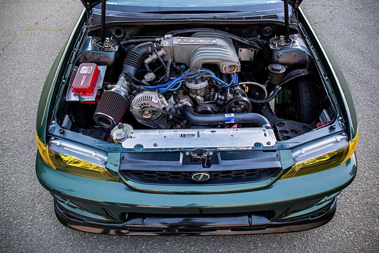 hight resolution of not an ls swap how about a 5 0l powered subaru impreza drift car