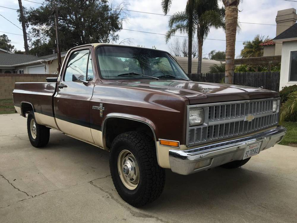 medium resolution of this grandpa fresh 1981 k20 scottsdale chevy truck is almost too cool to mess with