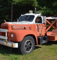 roadside find this classic b model mack wrecker is yankee ingenuity at its finest [ 1200 x 795 Pixel ]