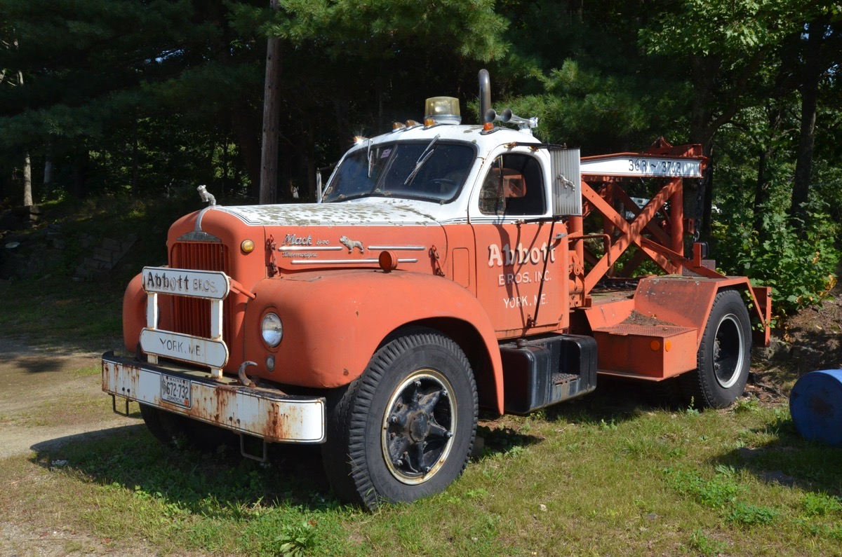 hight resolution of roadside find this classic b model mack wrecker is yankee ingenuity at its finest