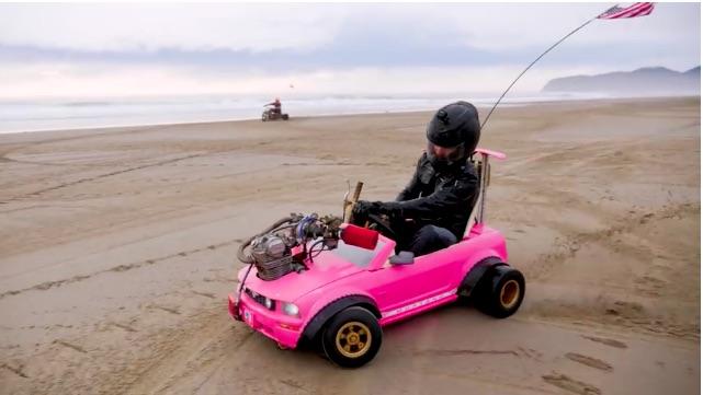 Modified Power Wheels Project Powertech Go Kart