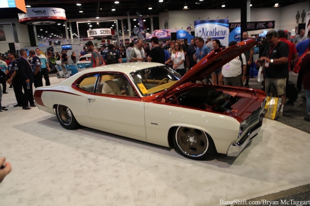 medium resolution of 2018 sema show cool car kaspar the goolsby customs 1974 plymouth duster