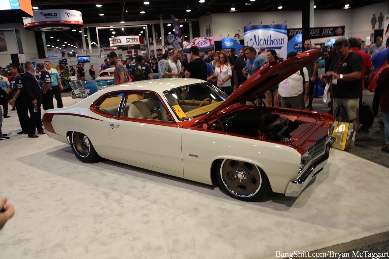 hight resolution of 2018 sema show cool car kaspar the goolsby customs 1974 plymouth duster