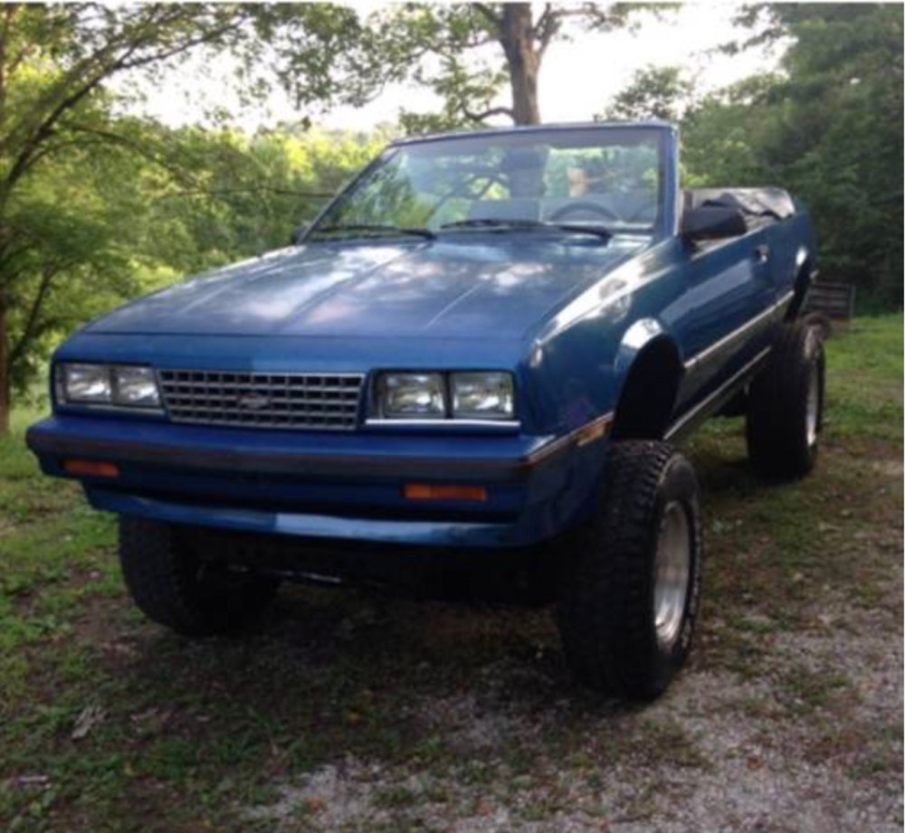 medium resolution of files who makes a trar out of a 1986 chevy cavalier convertible