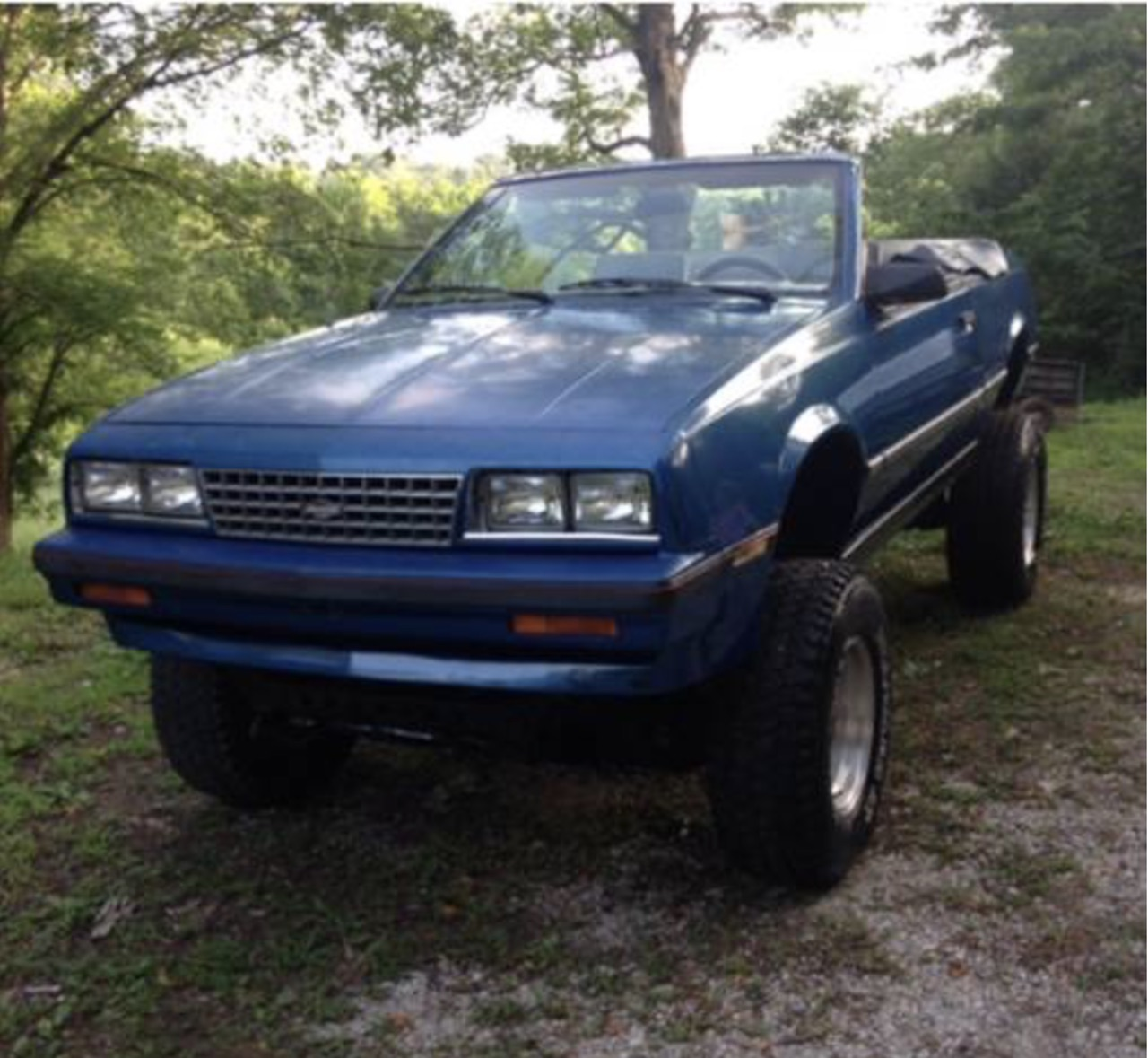 hight resolution of files who makes a trar out of a 1986 chevy cavalier convertible