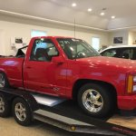Bangshift Com This 1993 Gmc Sierra Gt Runs 8 S With A Small Block And An F2 Procharger Bangshift Com