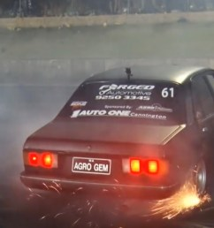 blown to a t a holden gemini with a screaming six rips it up at motorvation [ 1806 x 1028 Pixel ]