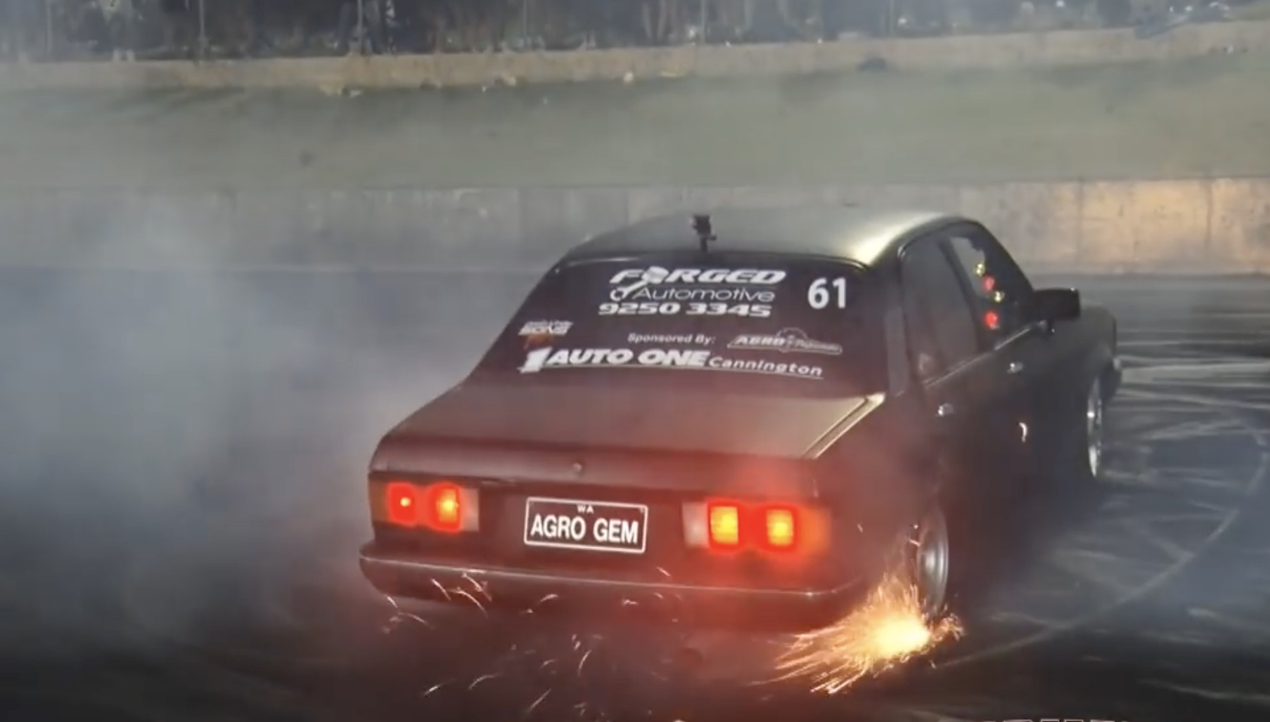hight resolution of blown to a t a holden gemini with a screaming six rips it up at motorvation