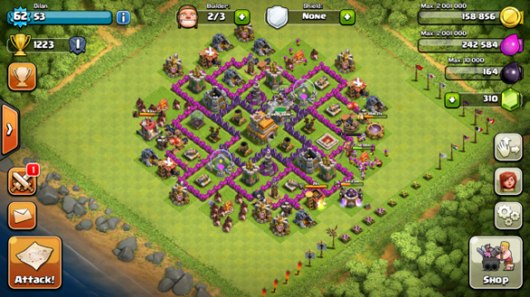 Coc th3 defense myideasbedroom com