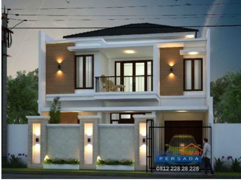 Desain rumah minimalis 2 lantai di lahan 10x12 m2 desain