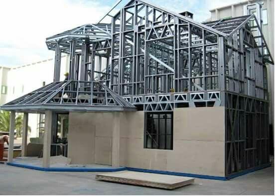 Konstruksi Baja Ringan Untuk Rumah  Kontraktor Bangun Rumah
