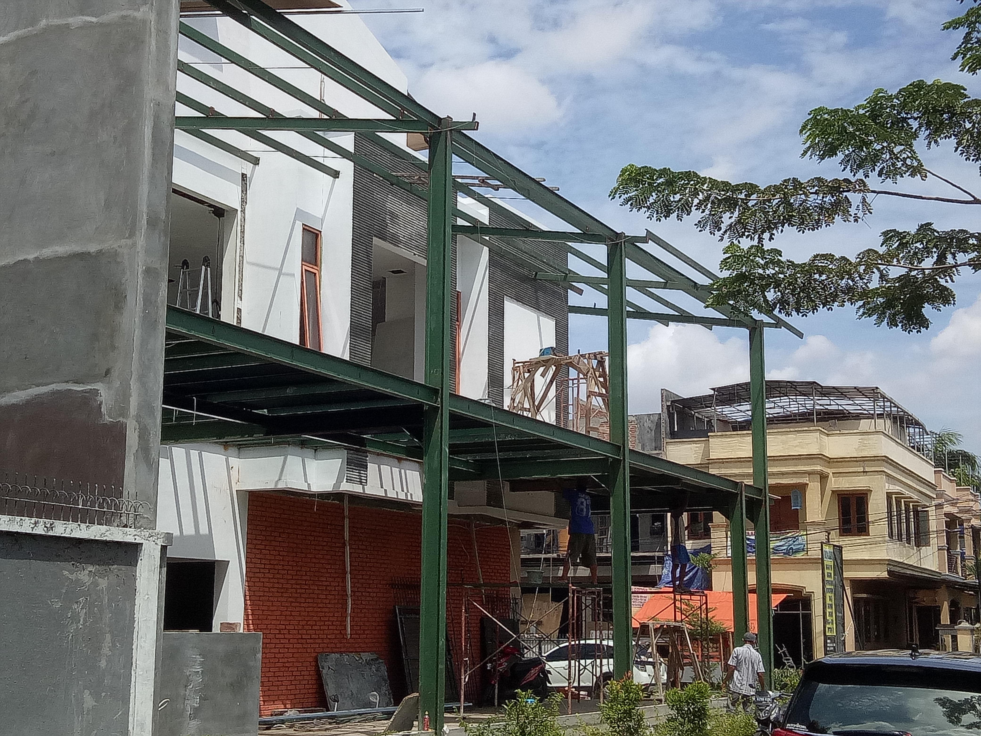 Konstruksi Baja Untuk Rumah Tinggal  Desain Rumah Online