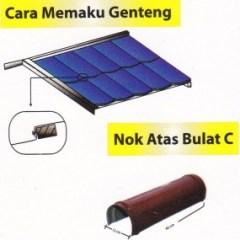 Harga Nok Baja Ringan Genteng Metal Murah Cv Bangun Tujuh Cahaya