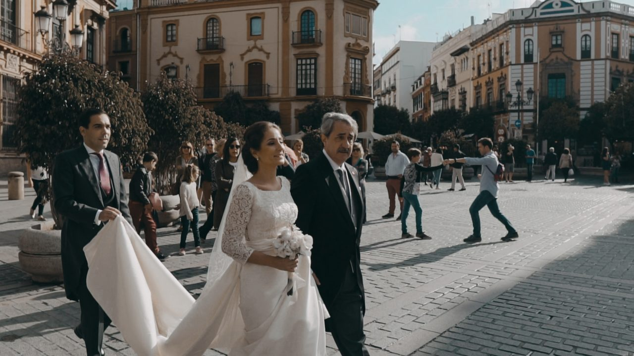 Boda en Torre de la Reina en Sevilla