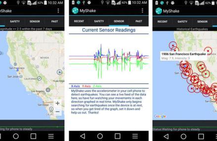 A fost lansata aplicatia care detecteaza cutremurele