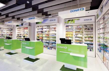 """Reţeaua de farmacii Dona se îndreaptă spre afaceri de 200 mil. euro. """"Vom deschide 20-25 de farmacii noi în acest an"""""""