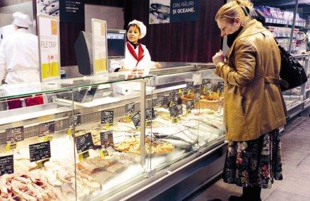 Crapul este cel mai vândut peşte românesc: Circa 10.000 de tone se vând anual pe piaţa locală