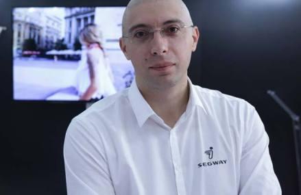 Dan Rotaru, trotinetele electrice Segway: Estimăm că ne vom dubla cifra de afaceri şi vom ajunge la 600.000 euro în 2019. Compania estimează că va vinde în acest an în jur de 1.000 de trotinete electrice în România