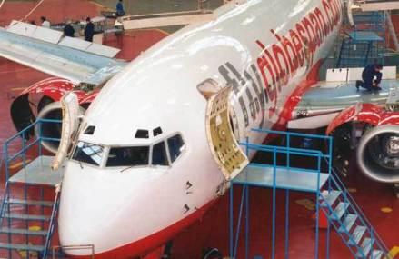 Acţiunile Aerostar, plus 17,9% la Bursă în două zile. Compania din Bacău va repara avioane F-16