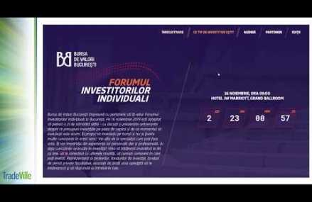 Tradeville la Forumul Investitorilor Individuali