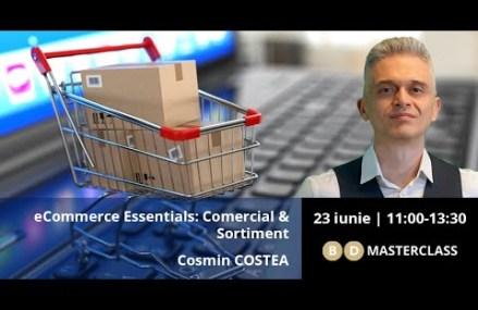 Invitație la BD Masterclass cu Cosmin COSTEA