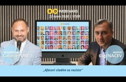 Webinar live cu Gigi Nacev