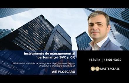 Invitație masterclass Adi Ploscaru (16 iulie 2020)