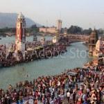 Hindu Holi city of Haridwar near Ganges, Uttranchal, India, new delhi to haridwar taxi