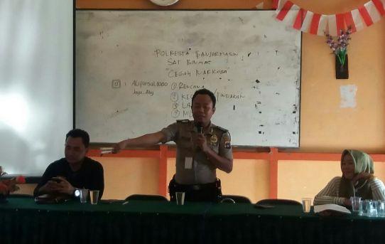 Ada Kunjungan Polisi di SMPN 13 Banjarmasin, Begini Ceritanya?