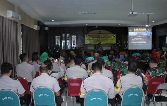 Polresta Banjarmasin kembali Jalin Silaturahmi Hangat dengan 3 ( tiga ) Pilar
